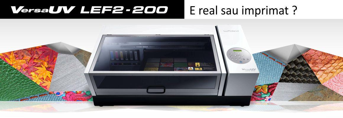 LEF2-200 UV printer